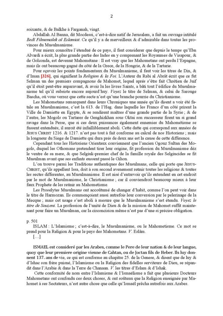 B.-d'Herbelot---Sur-Eslam,-Islam-1697-002