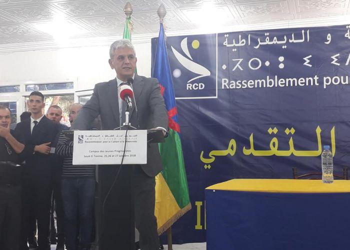 «L'islam religion d'Etat a freiné le développement en Algérie» selon Mohcine Belabbes