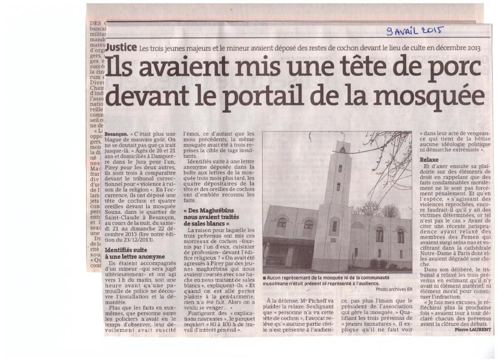 procès tête de porc sur mosquée à Besançon 001