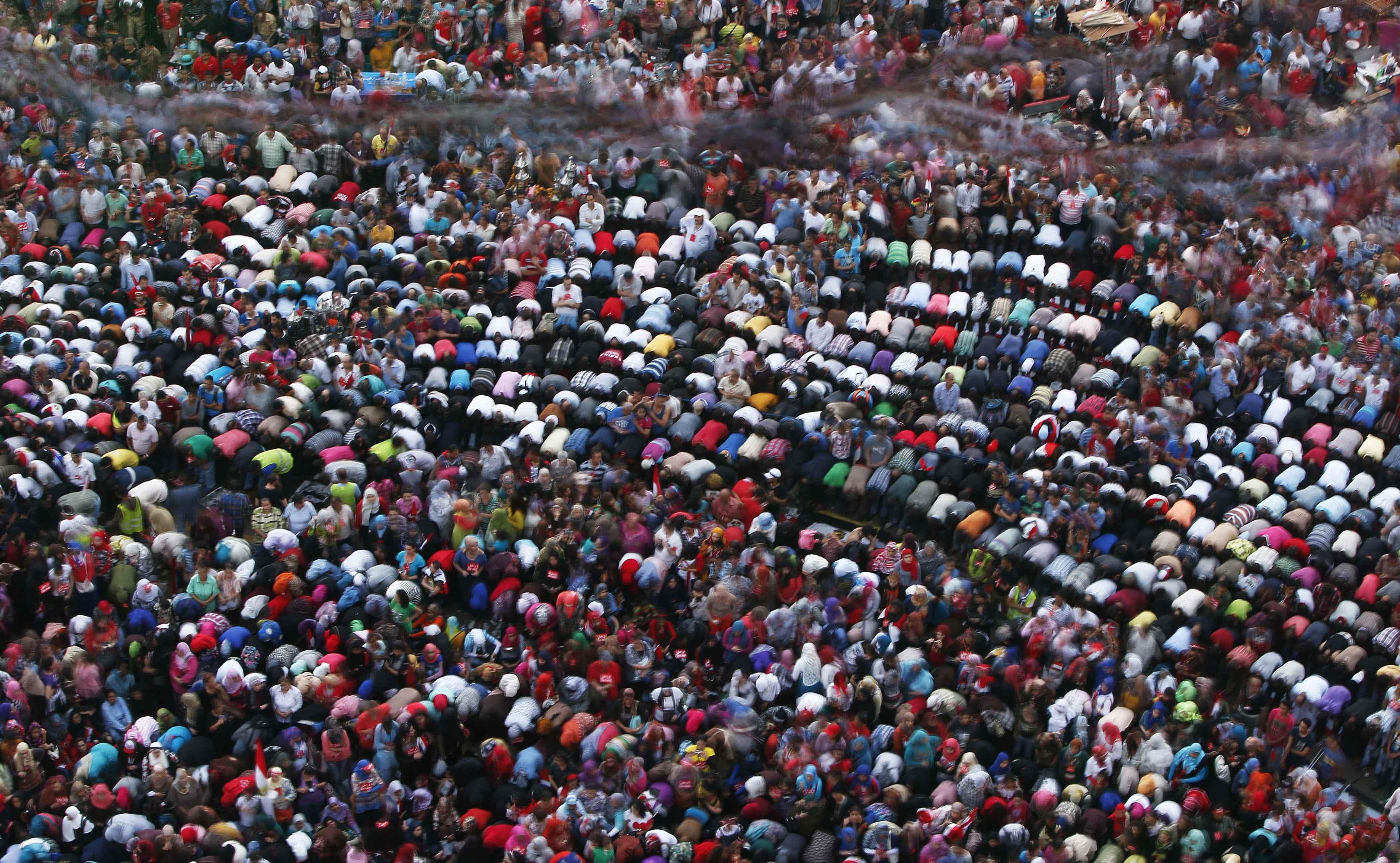 Marine Le Pen n'a pas vu de prières dans les rues au Caire ? Faut qu'elle change de lunettes !
