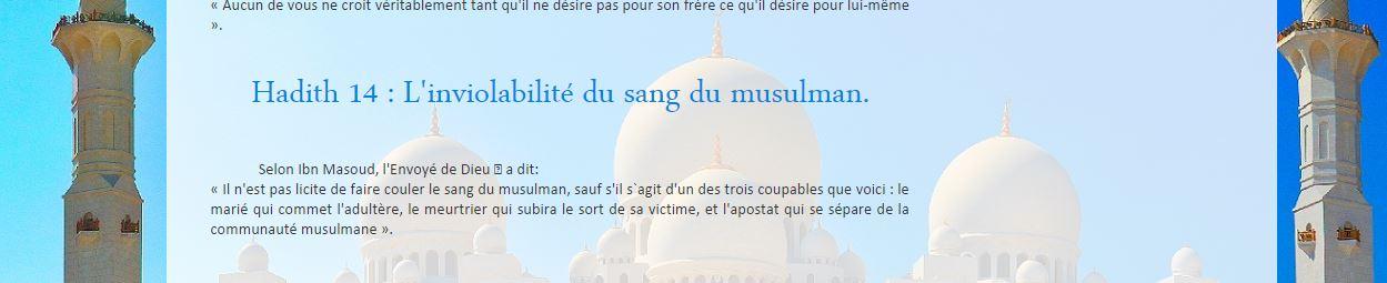 Le site de la mosquée de Vichy appelle à tuer les apostats…