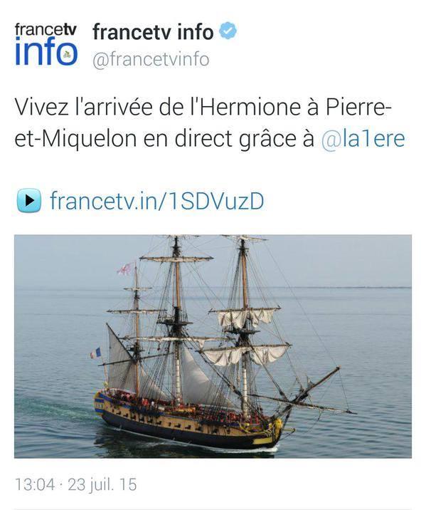 France-infos rebaptise Saint-Pierre-et-Miquelon, devenu Pierre-et-Miquelon !
