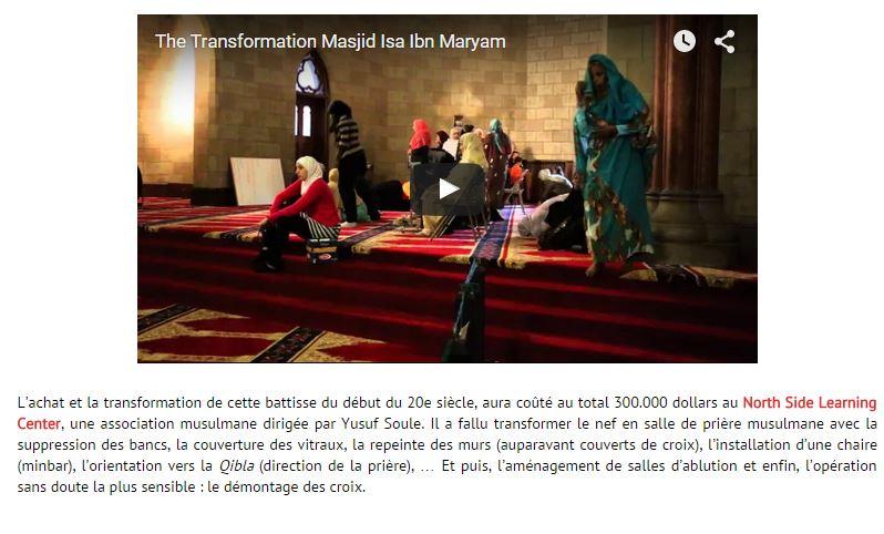 Pour ceux qui envisagent sereinement de transformer nos églises en mosquées…