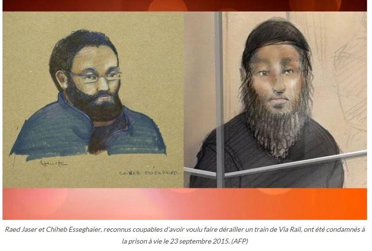 Canada : prison à vie pour  les apprentis terroristes… Puisse Taubira en prendre de la graine