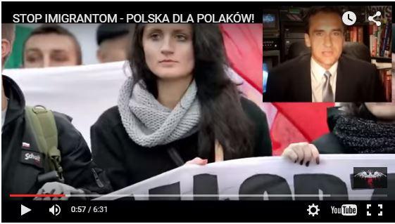 Des dizaines de milliers de Polonais : «La Pologne aux Polonais ! «