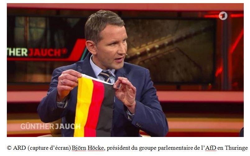 Allemagne : quand Björn Höcke, en se réappropriant le drapeau allemand, est devenu le héros du peuple