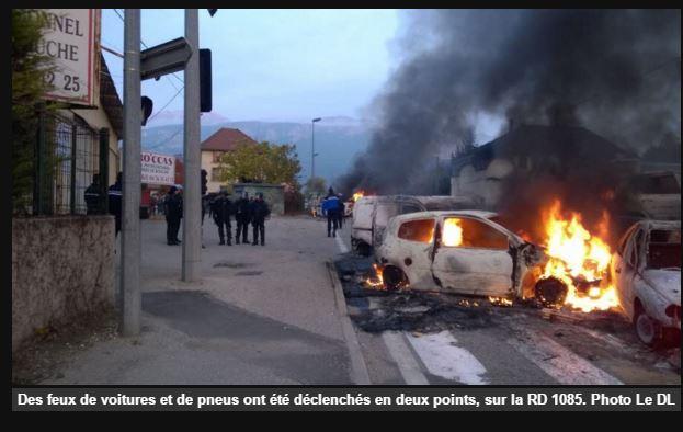 L'intifada, c'est à Moirans et ce n'est que le début