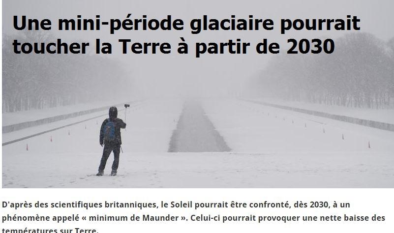 La gigantesque arnaque de la COP21, faite pour nous maintenir dans la peur et la soumission