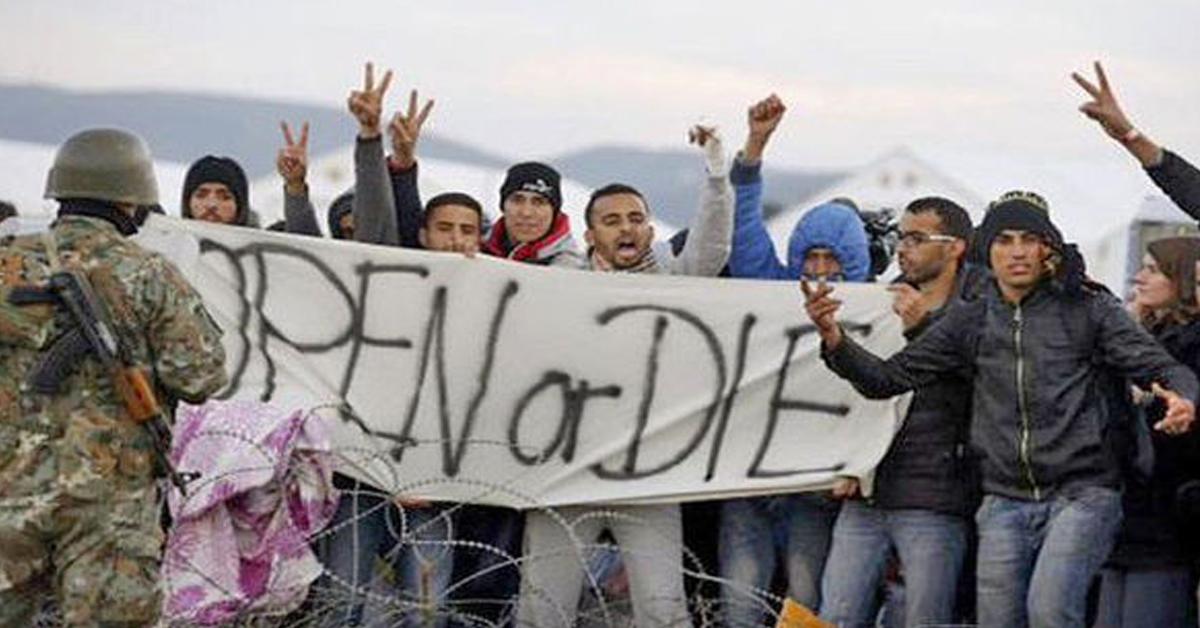 «Ouvrez vos frontières ou mourez», menacent les «migrants»