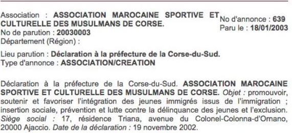 En France, dorénavant, ce qui est illégal est permis à condition d'être connu… Merci au préfet de Corse !