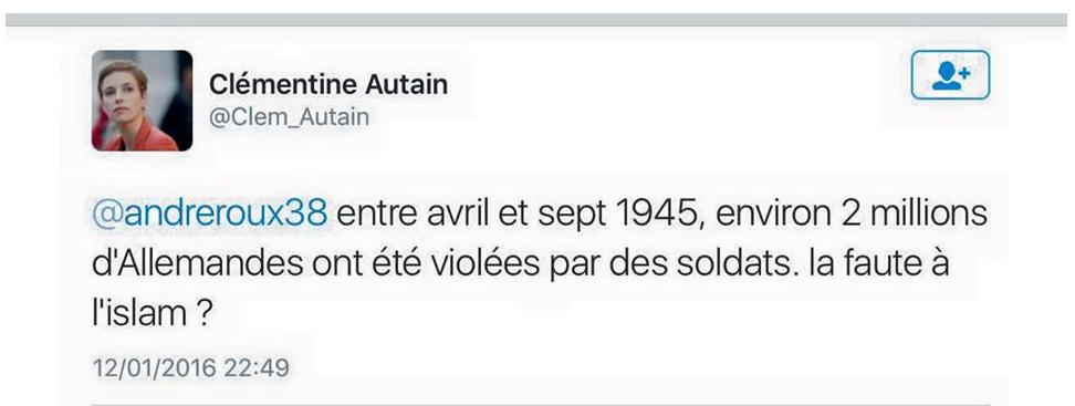 Clémentine Autain a abandonné le féminisme pour le cancrisme