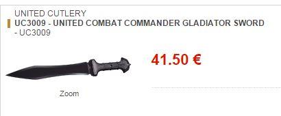 Légitime défense : et si le glaive romain était plus efficace que le pistolet ?