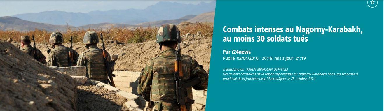 L'Azerbaïdjan en guerre contre l'Arménie, soutenue par Poutine…
