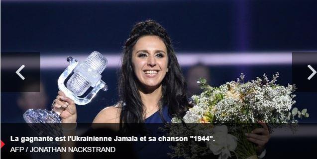 Eurovision : scandaleuse victoire de la politiquement correcte Ukraine