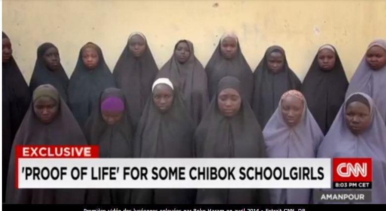 Qui s'alarme du calvaire subi par les 219 jeunes filles aux mains de Boko Haram depuis deux ans ? Qui ?