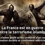 J'aimerais qu'une 3ème guerre mondiale soit évitée mais je connais l'islam… on ne pourra pas