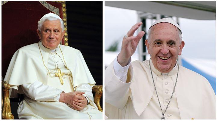 Ça cause au Vatican :  l'antipape Bergoglio aurait pris la place du vrai pape Ratzinger