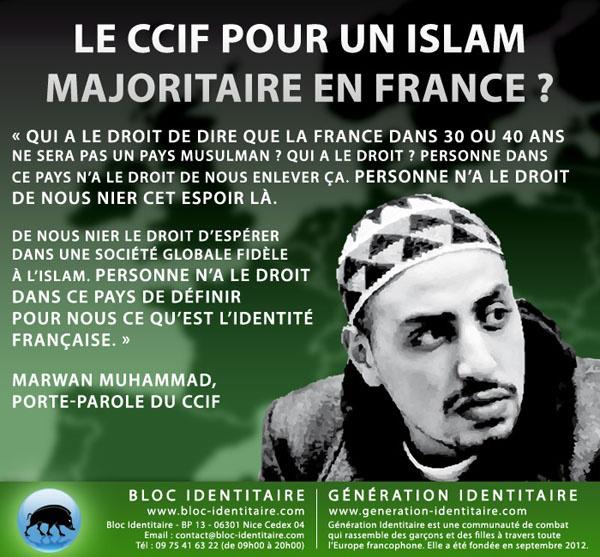 Pour le CCIF c'est l'islamophobie de Zemmour and co qui aurait mis le couteau dans la main de Harpon