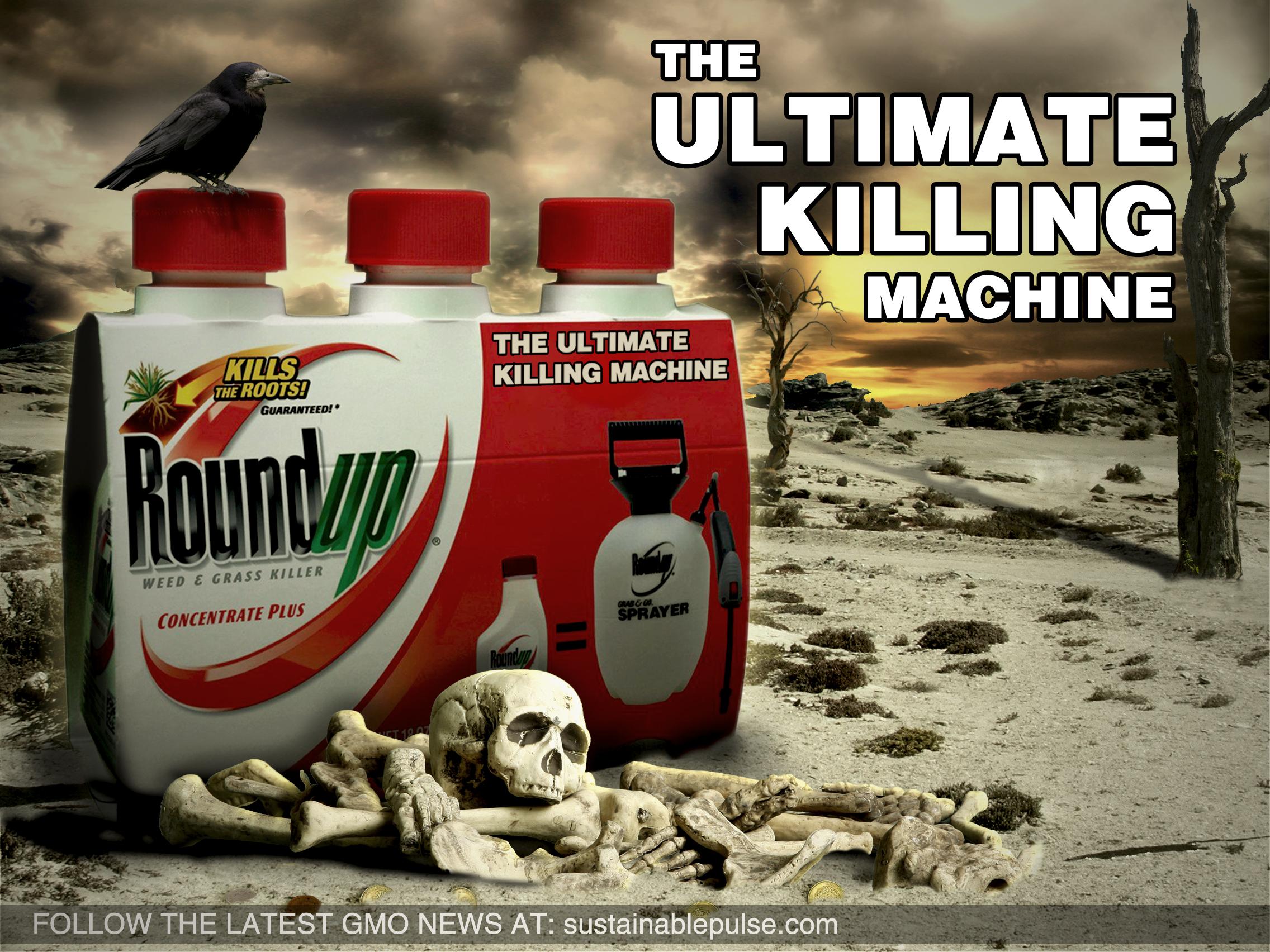 Les Etats disent non au  roundup : cuisante défaite pour Monsanto et Bruxelles qui veut passer outre !