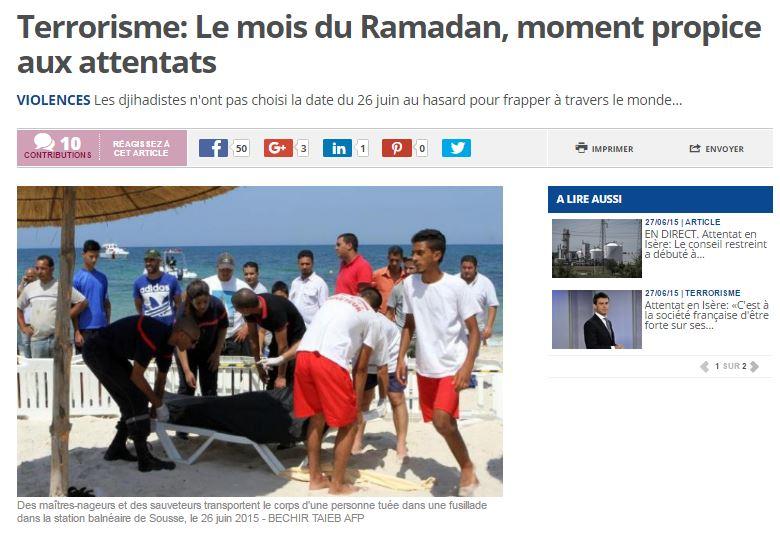 Le ramadan est depuis toujours une arme de guerre et de conquête des non musulmans