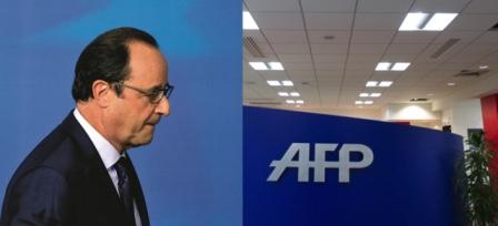 Nice et les manipulations médiatiques : n'oubliez pas que le Conseil d'Etat a offert l'AFP à Hollande…
