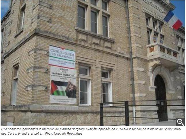 Poitiers : les jeunes communistes veulent faire le terroriste Marwan Barghouti citoyen d'honneur  !