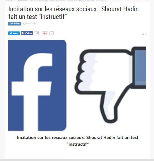 Facebook pris au piège grâce à un testing juif