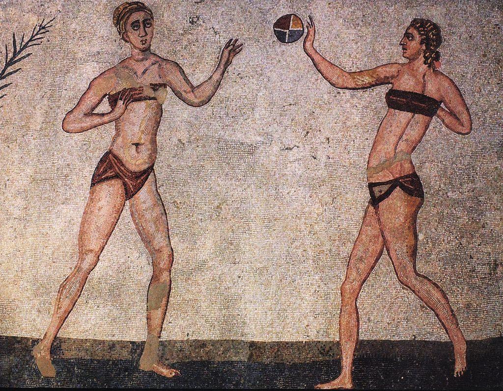 Sicile : le bikini existait déjà sur les exceptionnelles mosaïques de la villa Casale 300 ans apr. JC