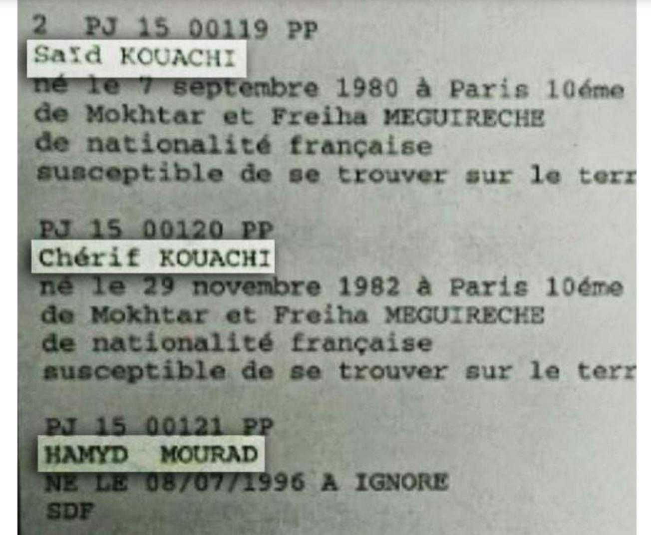 Le gentil beau-frère des Frères Kouachi a essayé de rejoindre l'EI…