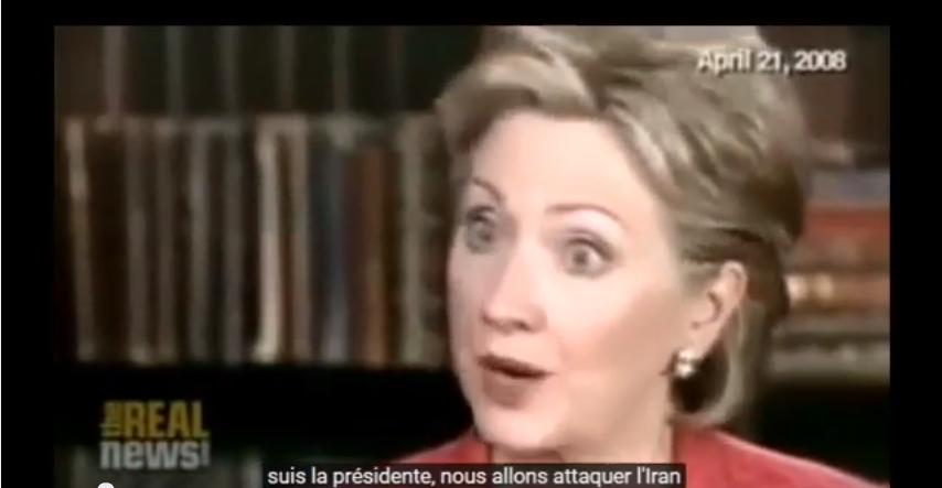 Hillary Clinton : «Si je suis présidente, nous attaquerons l'Iran» (vidéo)