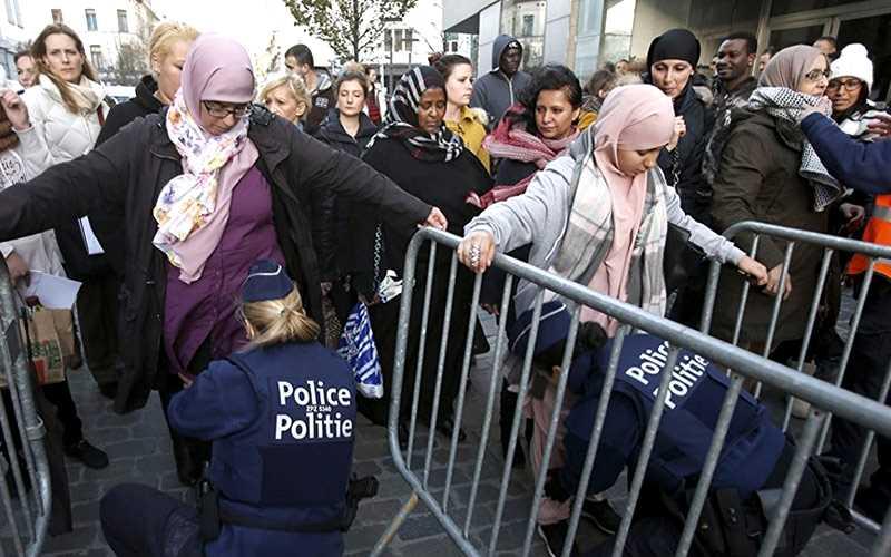 Selon les données officielles, au moins 56,5% de la population de Bruxelles est «d'origine étrangère»
