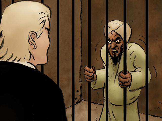 (USA) : Nouvelle caricature de Mahomet mis au zonzon par Wilders