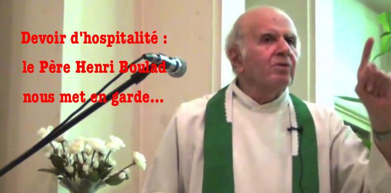Le père Boulad dézingue le traître de pape François et encense l'Europe des nations, un régal !