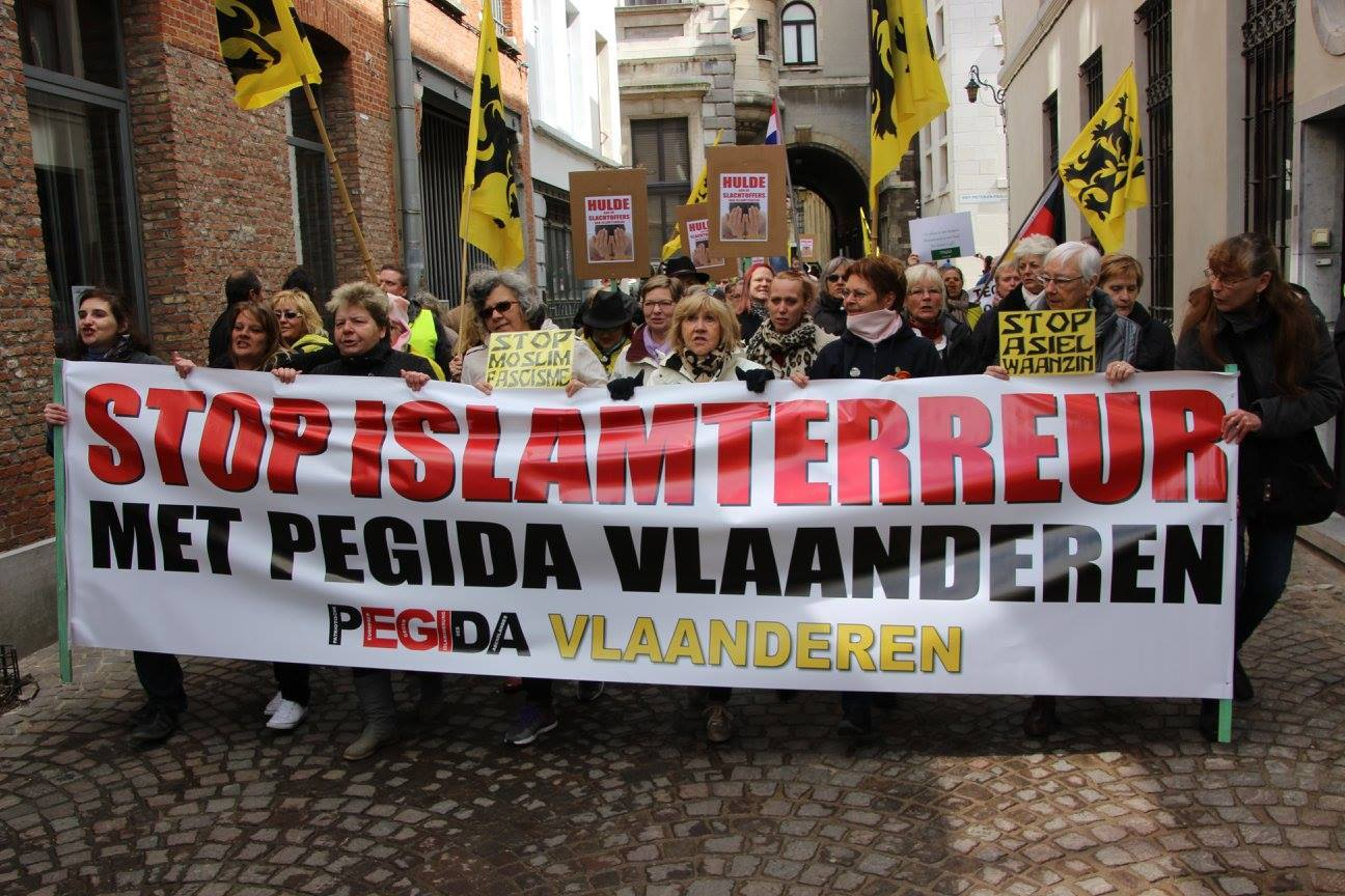 A Anvers, Pegida appelle à la création de patrouilles de surveillance