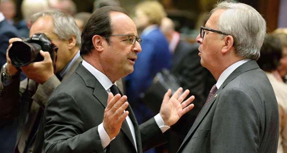 Traité transatlantique : Juncker et Merkel disent merde à Hollande, les négociations se poursuivront