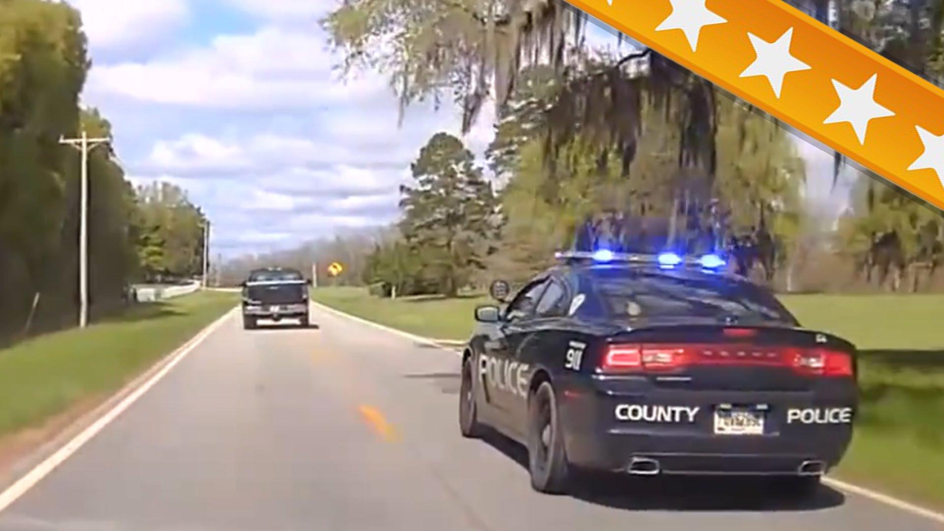 Des amendes pour les excès de vitesse des policiers poursuivant des délinquants…