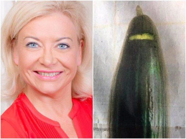 Scandale : le maire de Bonn poste sur FB une photo humoristique d'un concombre en burqa