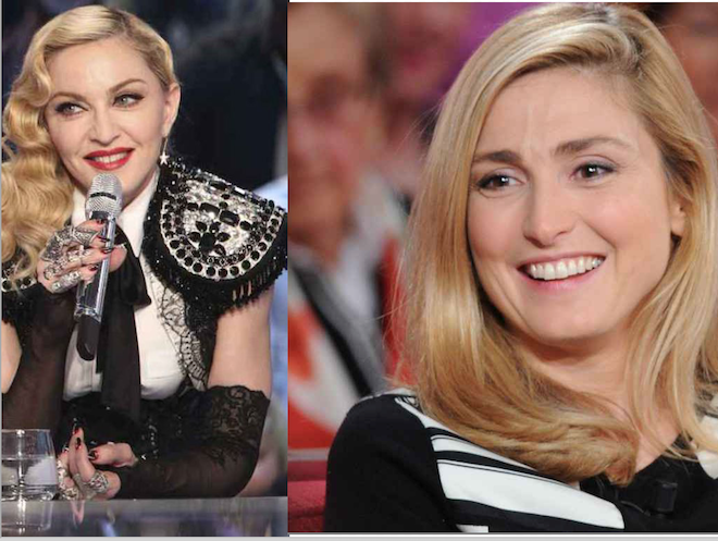 Fellation : on me dit dans l'oreillette que Julie Gayet est en ligne avec Madonna…