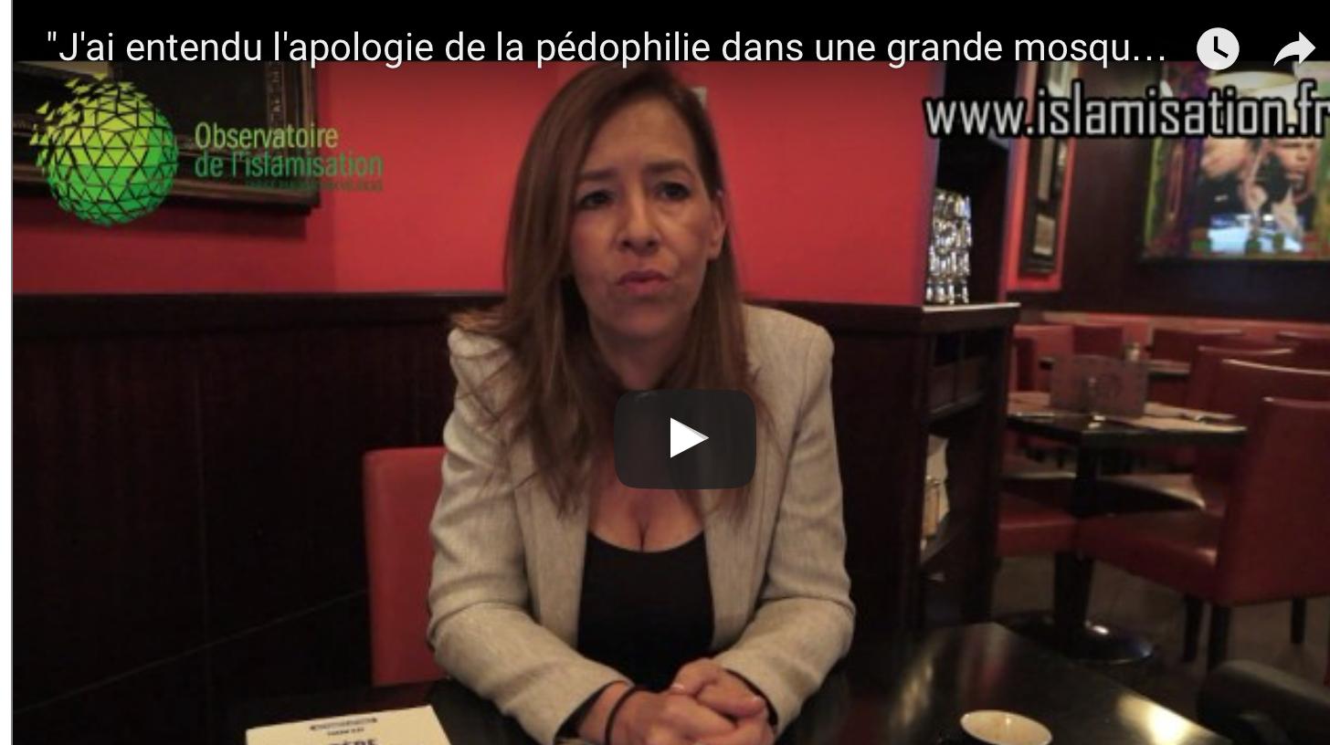 «J'ai entendu l'apologie de la pédophilie dans une grande mosquée de Bruxelles» Farah Kay