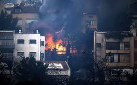 Nouvelle forme de djihad en Israël : 600 incendies allumés par des musulmans.