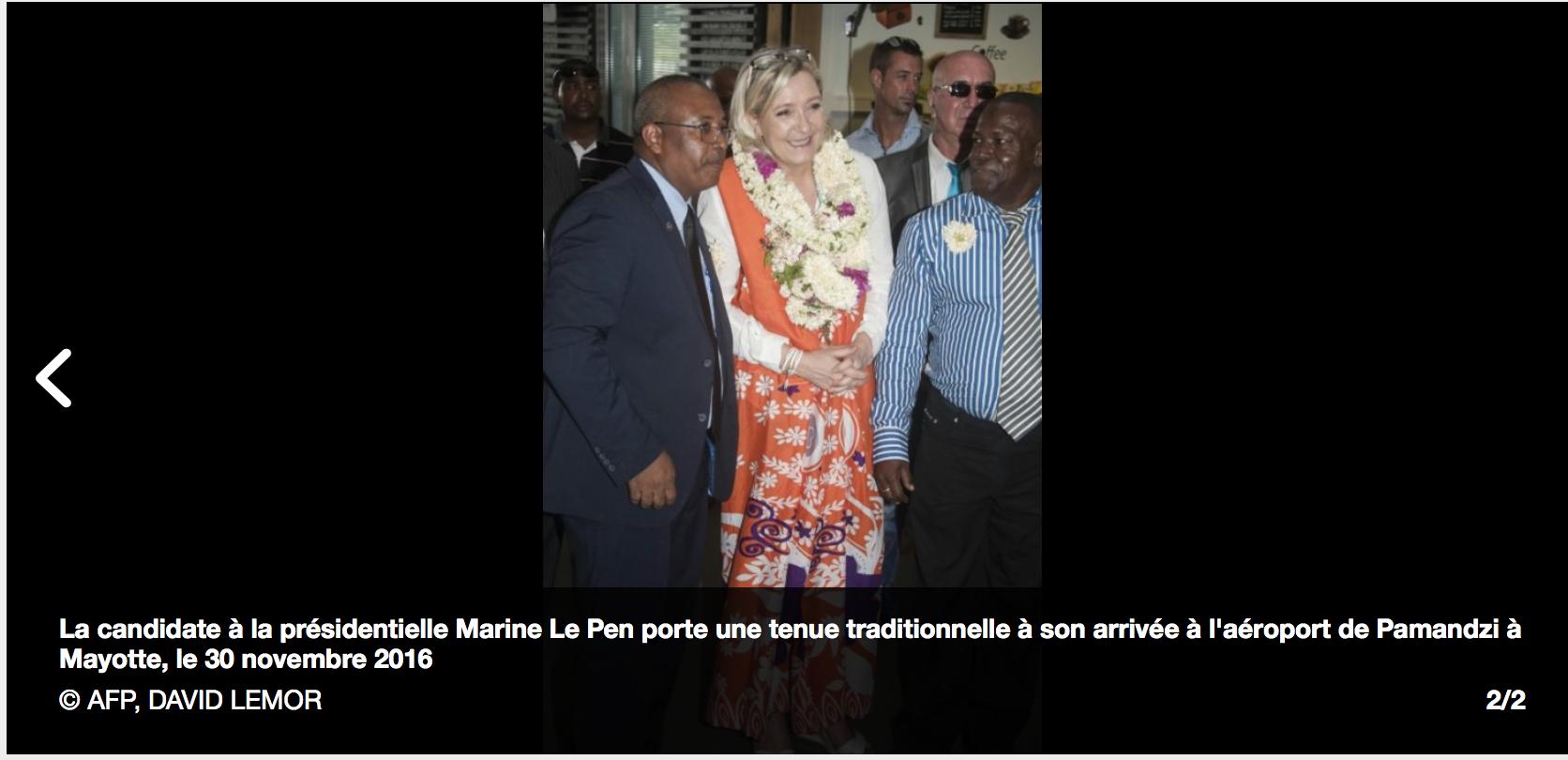 Mayotte n'est pas la France, Marine risque de tout perdre à cause de son silence sur l'islam