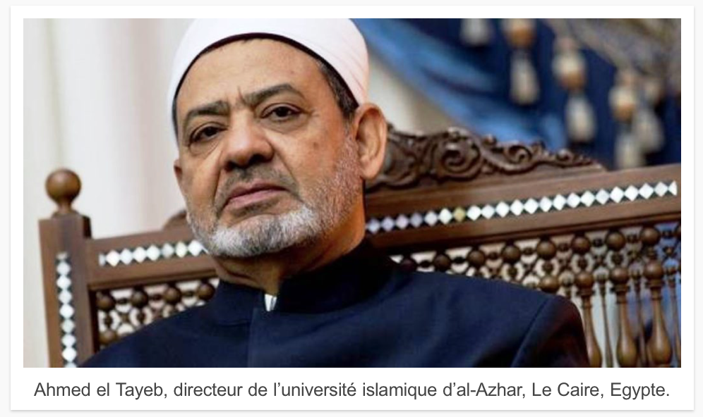 Le grand imam d'Al Azhar confirme : l'Etat Islamique est musulman