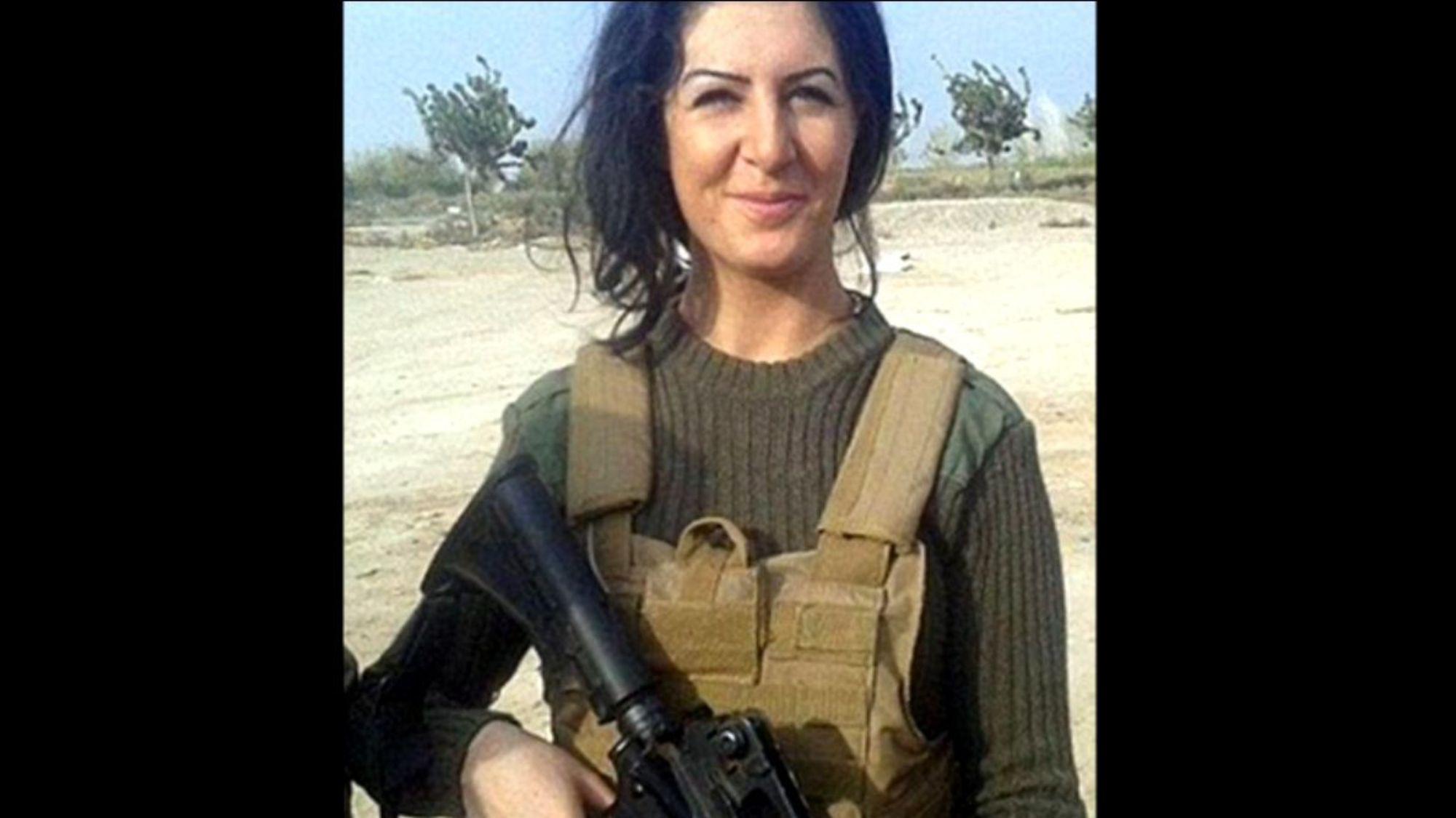 La Danoise Joanna Palani sera-t-elle condamnée pour être allée combattre l'EI aux côtés des Kurdes ?