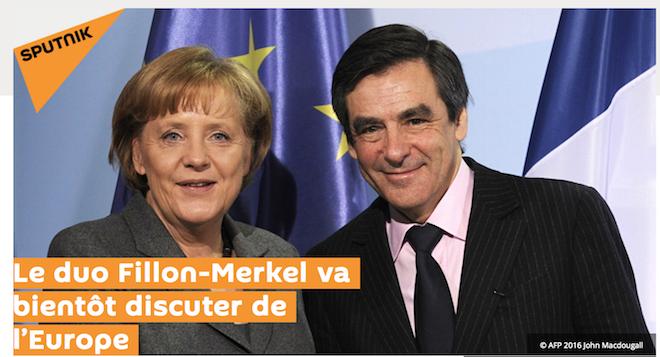 Bientôt Farid Fillon va rencontrer son alter ego allemand, l'horreur Merkel