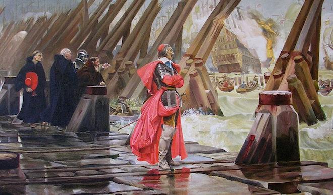 L'hommage de Marine Le Pen à Richelieu, qui, à la Rochelle, fait triompher le principe de l'unité face aux factions religieuses