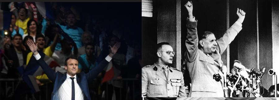 Macro-con veut imiter de Gaulle : «je vous ai compris !»