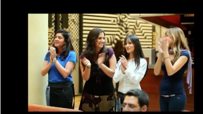 Et une video pour Onfray, qui croit que les Libanaises se voilent…
