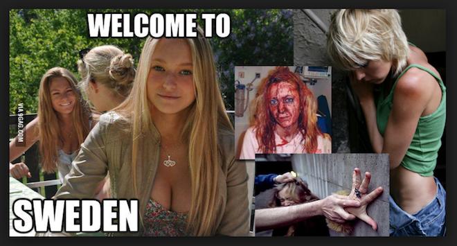 Video choc : la Suède, capitale du viol de l'Europe, témoignage d'un journaliste