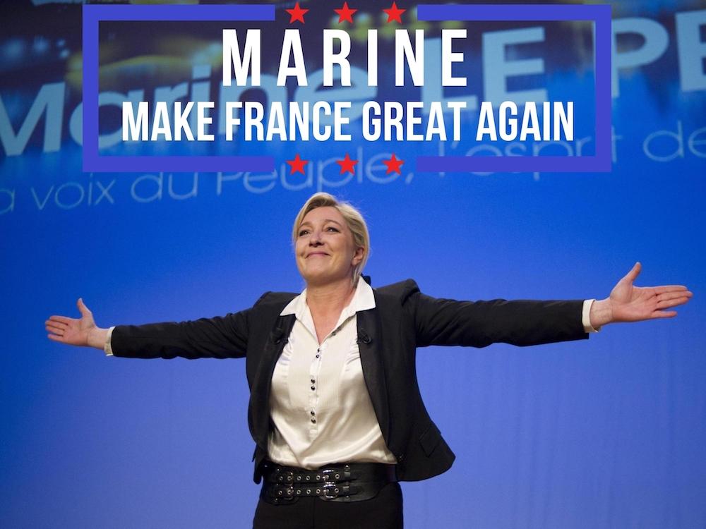 Marine Le Pen va désormais faire traduire toutes ses interventions en sept langues étrangères