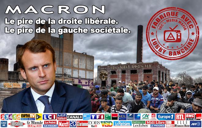 Vous ne voulez pas de Macron et la mondialisation ? Alors agissez, il nous reste 24 jours